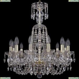 1402/12/195/XL-64/G Подвесная люстра Bohemia Ivele Crystal (Богемия), 1402