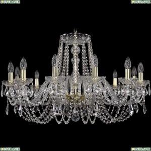1402/12/300/G/Leafs Подвесная люстра Bohemia Ivele Crystal (Богемия), 1402