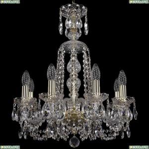 1402/8/160/XL-59/G Подвесная люстра Bohemia Ivele Crystal (Богемия), 1402