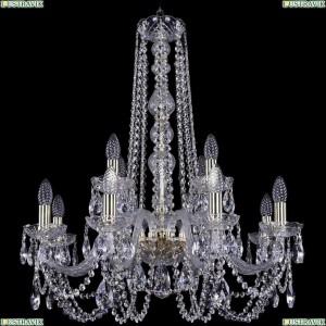 1402/8+4/240/h-76/G Подвесная люстра Bohemia Ivele Crystal (Богемия), 1402