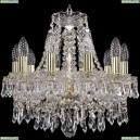 1403/10/141/G Хрустальная подвесная люстра Bohemia Ivele Crystal (Богемия), 1403