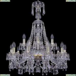 1403/10+5/240/XL-80/G Подвесная люстра Bohemia Ivele Crystal (Богемия), 1403