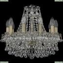 1409/10/141/Pa Хрустальная подвесная люстра Bohemia Ivele Crystal (Богемия), 1409