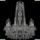 1409/10/160/h-60/Ni Хрустальная подвесная люстра Bohemia Ivele Crystal (Богемия), 1409