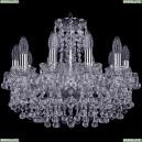 1409/10/160/Ni Хрустальная подвесная люстра Bohemia Ivele Crystal (Богемия), 1409