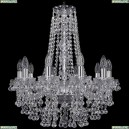 1409/10/195/h-63/Ni Хрустальная подвесная люстра Bohemia Ivele Crystal (Богемия), 1409