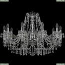 1410/10/300/Ni/V0300 Хрустальная подвесная люстра Bohemia Ivele Crystal