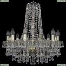 1410/12/195/h-60/G/V0300 Подвесная люстра Bohemia Ivele Crystal (Богемия), 1410