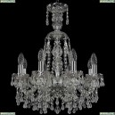 1410/8/160/XL-60/Ni/V0300 Подвесная люстра Bohemia Ivele Crystal (Богемия), 1410