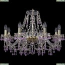 1410/8/240/G/V7010 Подвесная люстра Bohemia Ivele Crystal (Богемия), 1410