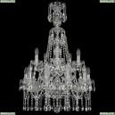 1413/10+5/200/XL-90/2d/Ni Подвесная люстра Bohemia Ivele Crystal (Богемия), 1413