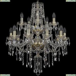 1415/10+5/220/2d/G Подвесная люстра Bohemia Ivele Crystal (Богемия), 1415