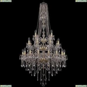 1415/16+8+4/300/h-155/3d/G Подвесная люстра Bohemia Ivele Crystal (Богемия), 1415