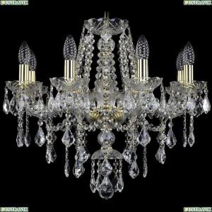 1415/8/200/G/Leafs Подвесная люстра Bohemia Ivele Crystal (Богемия), 1415