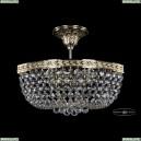 19283/35IV G Хрустальная потолочная люстра Bohemia Ivele Crystal (Богемия), 1928