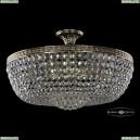 19281/55IV GB Хрустальная потолочная люстра Bohemia Ivele Crystal (Богемия), 1928