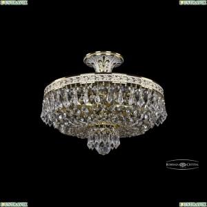 19271/35IV GW Хрустальная потолочная люстра Bohemia Ivele Crystal (Богемия), 1927
