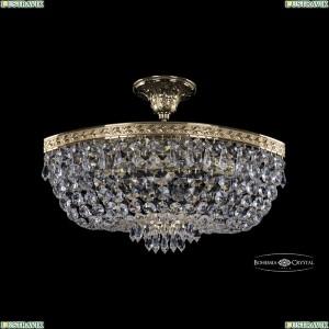 19273/45IV G Хрустальная потолочная люстра Bohemia Ivele Crystal (Богемия), 1927