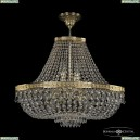 19273/H1/55IV G Хрустальная потолочная люстра Bohemia Ivele Crystal (Богемия), 1927