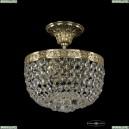 19281/20IV G Хрустальная потолочная люстра Bohemia Ivele Crystal (Богемия), 1928