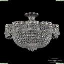 19301/45JB Ni Хрустальная потолочная люстра Bohemia Ivele Crystal