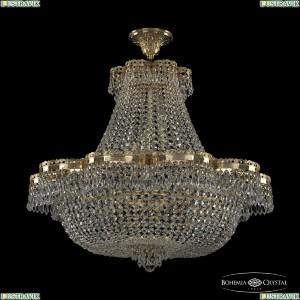 19301/H1/75JB G Хрустальная потолочная люстра Bohemia Ivele Crystal (Богемия), 1930