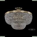 19101/45IV G Хрустальная потолочная люстра Bohemia Ivele Crystal (Богемия), 1910