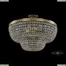 19101/55IV G Хрустальная потолочная люстра Bohemia Ivele Crystal (Богемия), 1910