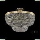 19101/60IV G Хрустальная потолочная люстра Bohemia Ivele Crystal (Богемия), 1910