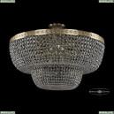 19101/80IV G Хрустальная потолочная люстра Bohemia Ivele Crystal (Богемия), 1910