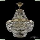 19101/H1/45IV G Хрустальная потолочная люстра Bohemia Ivele Crystal (Богемия), 1910