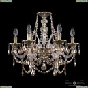 16111/6/165 GB R721 Хрустальная подвесная люстра с металлической чашкой Bohemia Ivele Crystal (Богемия), 1611