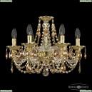 16106/6/165 G R777 Хрустальная подвесная люстра с металлической чашкой Bohemia Ivele Crystal (Богемия), 1606
