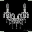 16103B/2/141 Ni Хрустальное бра с металлической чашкой Bohemia Ivele Crystal