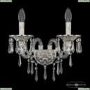 16103B/2/165/XL GW Хрустальное бра с металлической чашкой Bohemia Ivele Crystal (Богемия), 1610