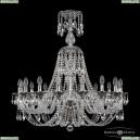 16106/16/300/XL-95 NB Хрустальная подвесная люстра с металлической чашкой Bohemia Ivele Crystal (Богемия), 1606