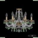 16110/6/165 FP V5001 Хрустальная подвесная люстра с металлической чашкой Bohemia Ivele Crystal