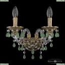 16110B/2/141 FP V5001 Хрустальное бра с металлической чашкой Bohemia Ivele Crystal (Богемия), 1611