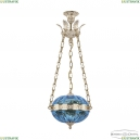 71000P/30 GW Aquamarine/M-1H Y8 Подвес под бронзу из латуни Bohemia Ivele Crystal (Богемия), 7100