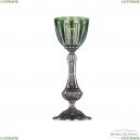 71100L/15 NB P1 Clear-Green/H-1H Настольная лампа под бронзу из латуни Bohemia Ivele Crystal (Богемия), 7100