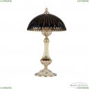 71100L/25 GW Amber-Blue/H-1K Настольная лампа под бронзу из латуни Bohemia Ivele Crystal (Богемия), 7100