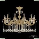71101/12/360 A G Подвесная люстра под бронзу из латуни Bohemia Ivele Crystal (Богемия), 7101
