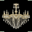 71102/12/300 B GW Подвесная люстра под бронзу из латуни Bohemia Ivele Crystal (Богемия), 7102