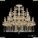 71102/12+6+6/300/2d A GW Подвесная люстра под бронзу из латуни Bohemia Ivele Crystal (Богемия), 7102