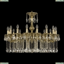 71102/16/300 A GB Подвесная люстра под бронзу из латуни Bohemia Ivele Crystal (Богемия), 7102