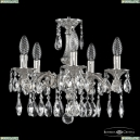 71102/5/125 A Ni Подвесная люстра под бронзу из латуни Bohemia Ivele Crystal (Богемия), 7102