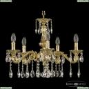 71102/5/175 A G Подвесная люстра под бронзу из латуни Bohemia Ivele Crystal (Богемия), 7102