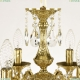 71102/6/125 B G Подвесная люстра под бронзу из латуни Bohemia Ivele Crystal (Богемия), 7102