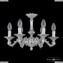 71102/6/125 Ni Подвесная люстра под бронзу из латуни Bohemia Ivele Crystal (Богемия), 7102