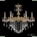71102/6/210 B FP Подвесная люстра под бронзу из латуни Bohemia Ivele Crystal (Богемия), 7102